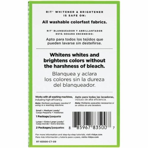 Rit 1 Oz. Fabric Whitener & Brightener Laundry Booster 83500 Perspective: bottom