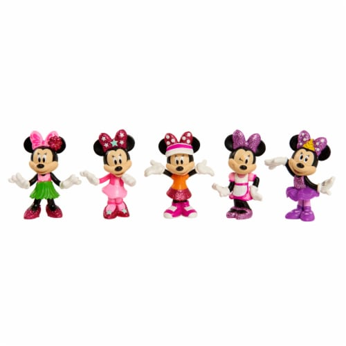 Disney Junior Minnie Collectable Figure Set Perspective: bottom
