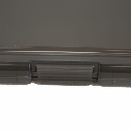 Mind Reader Plastic Storage Clipboard 6 - Pack - Black Perspective: bottom
