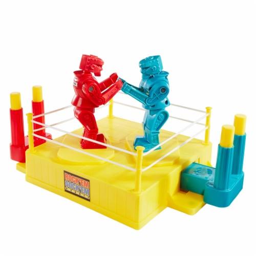 Mattel Rock 'Em Sock 'Em Robots Game Perspective: bottom