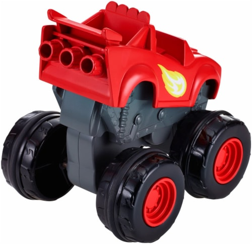 Fisher-Price® Blaze and the Monster Machines Slam & Go Blaze Vehicle Perspective: bottom