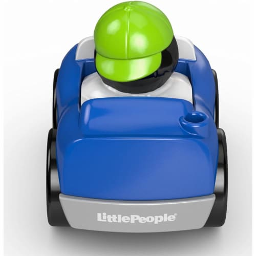 Fisher-Price® Little People Wheelies Vehicle Perspective: bottom