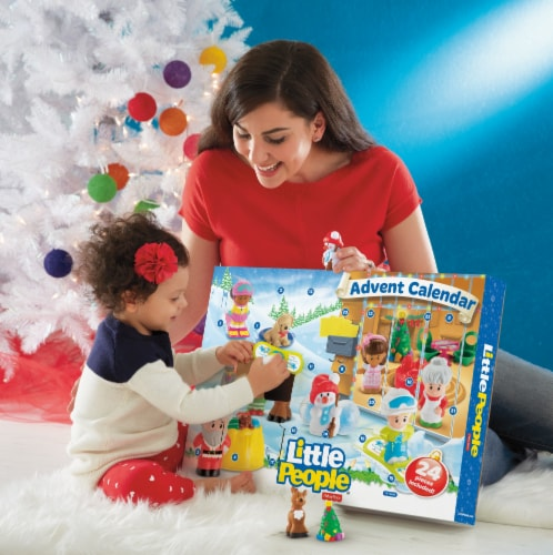 Fisher-Price® Little People® Advent Calendar Perspective: bottom