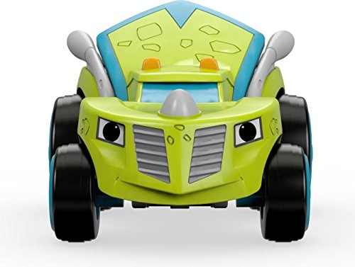 Fisher-Price® Nickelodeon Blaze & the Monster Machines Zeg Race Car Toy Perspective: bottom