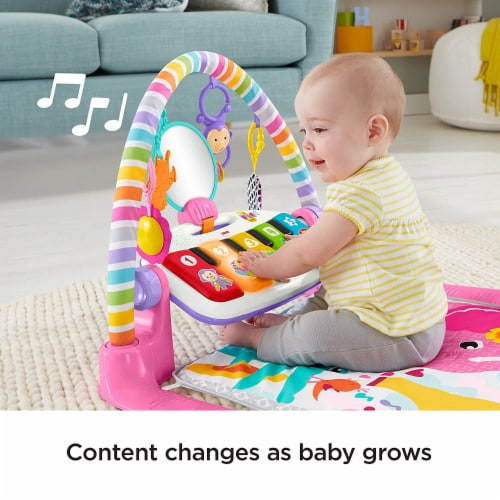 Fisher-Price® Kick & Play Piano Baby Playset Perspective: bottom