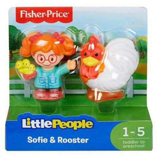 Fisher-Price® Little People Sofie and Rooster Perspective: bottom