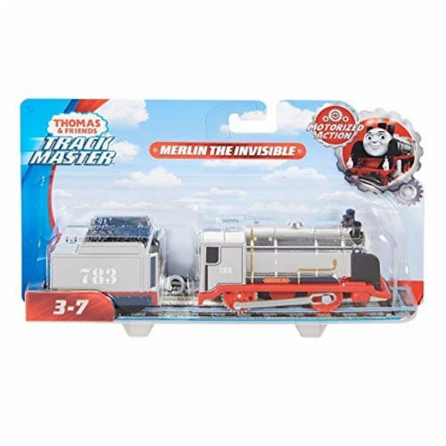 Fisher-Price® Thomas & Friends Trackmaster Merlin The Invisible Motorized Toy Perspective: bottom