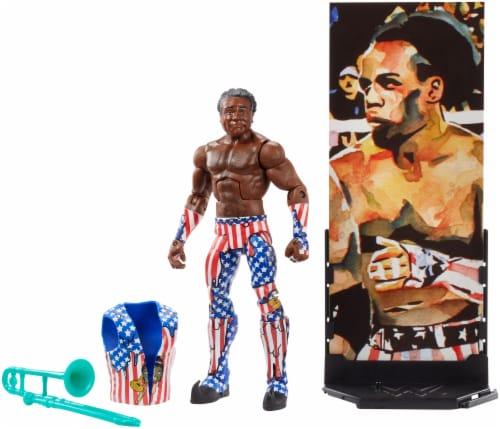Mattel WWE Xavier Woods Elite Collection Action Figure Perspective: bottom