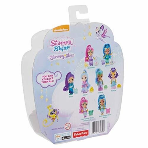 Fisher-Price® Nickelodeon Shimmer & Shine Adara Doll Perspective: bottom