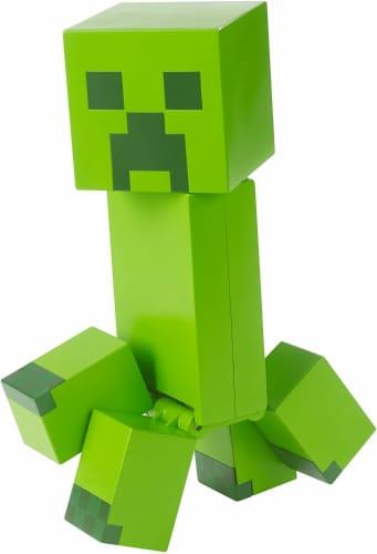 Minecraft Creeper Large Figure Perspective: bottom