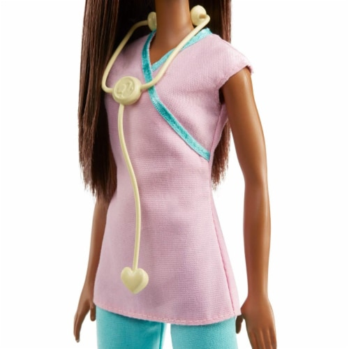 Barbie Nurse Doll, Brunette Perspective: bottom