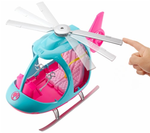 Barbie Dreamhouse Adventures Helicopters Perspective: bottom