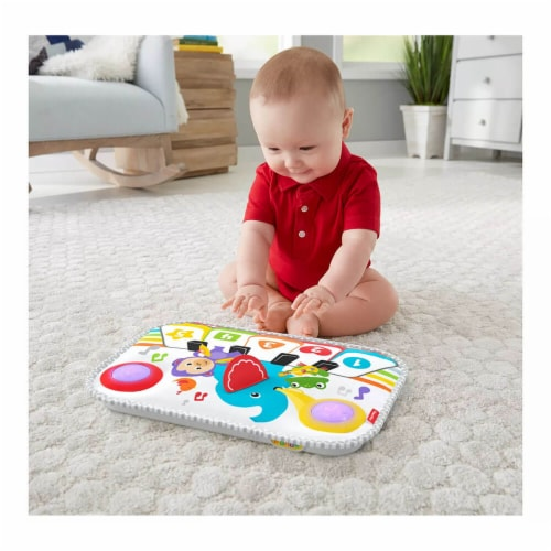 Fisher Price® Smart Stages Kick And Play Crib Piano Perspective: bottom