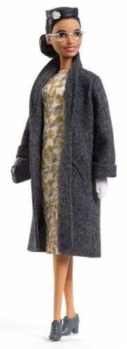 Mattel Barbie® Inspiring Women Rosa Parks Doll Perspective: bottom
