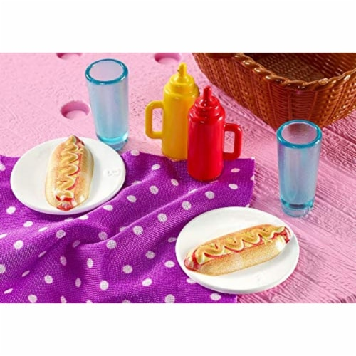 Mattel Barbie® Picnic Table Playset Perspective: bottom