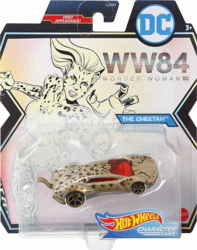 Mattel Hot Wheels® DC Universe Character Cars Perspective: bottom