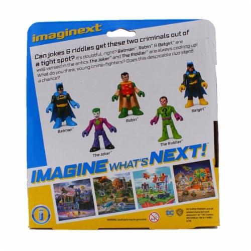 Fisher-Price® Imaginext® DC Heroes & Super Villains Figure Set Perspective: bottom