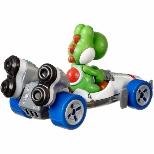 Mattel Hot Wheels® Mario Kart Yoshi B-Dasher Vehicle Perspective: bottom