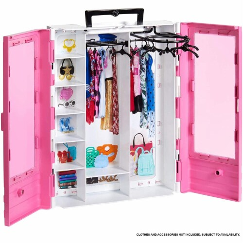 Barbie Fashionistas Ultimate Closet Portable Fashion Toy for 3 to 8 Year Olds Perspective: bottom