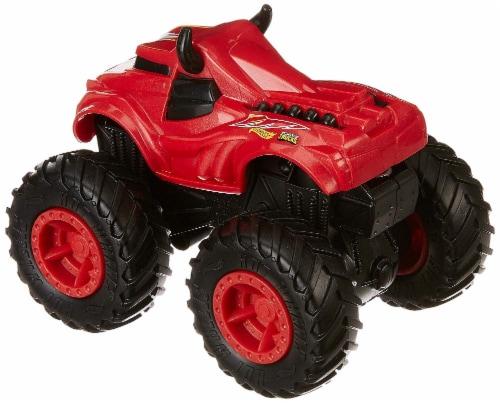 Mattel Hot Wheels® Monster Trucks Rev Tredz Steer Clear Vehicle Perspective: bottom