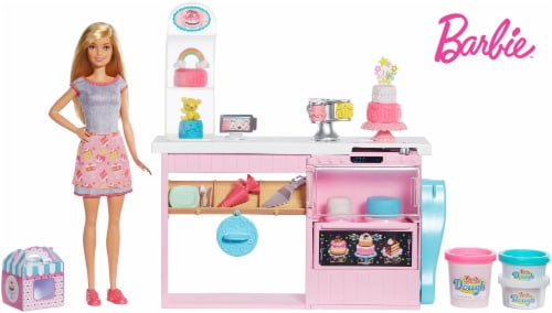 Mattel Barbie® Cake Decorating Playset Perspective: bottom