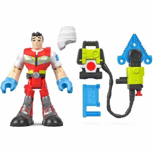 Fisher-Price® Rescue Heroes Reed Vitals Perspective: bottom