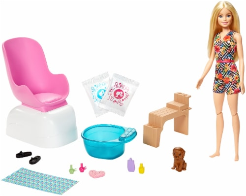 Mattel Barbie® Mani Pedi Spa Doll and Playset Perspective: bottom