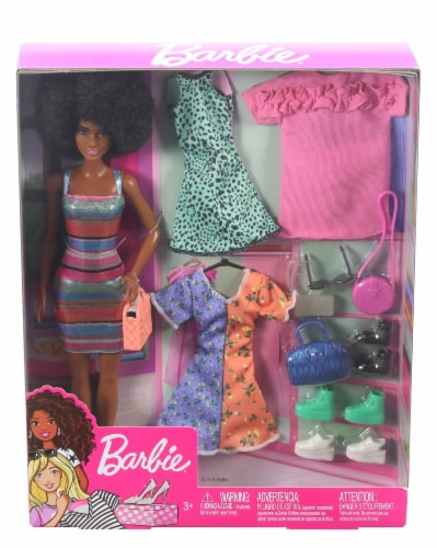 Mattel Barbie® Doll and Party Fashions Set Perspective: bottom
