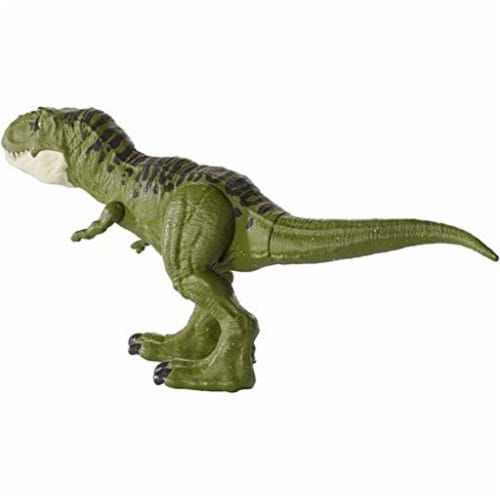 Jurassic World Fallen Kingdom Tyrannosaurus Rex Action Figure - Green Perspective: bottom