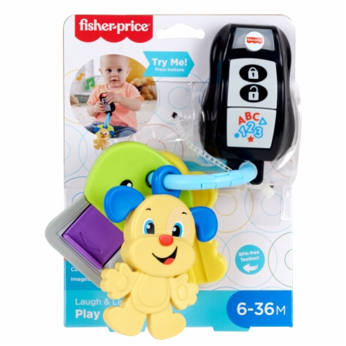Fisher-Price® Laugh Learn Play Go Keys Perspective: bottom