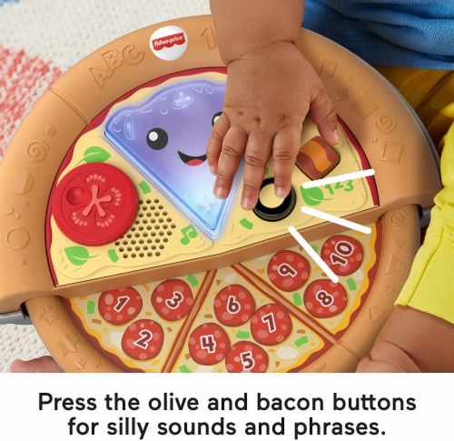 Fisher-Price Laugh & Learn Slice of Learning Pizza Perspective: bottom