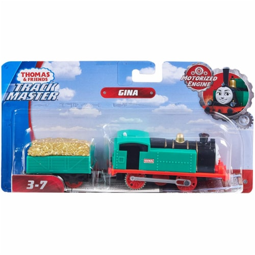 Thomas & Friends Fisher-Price Trackmaster Gina Motorized Toy Train Engine Perspective: bottom