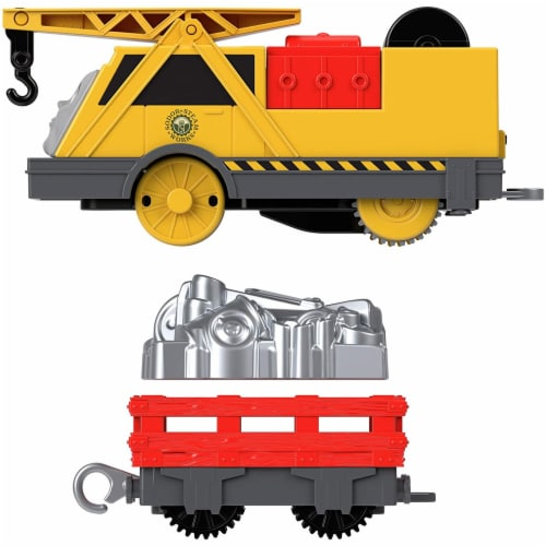 Thomas & Friends Fisher-Price Trackmaster Kevin Motorized Toy Train Engine Perspective: bottom