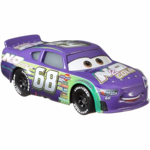 Disney Pixar Cars Speedy Comet and Parker Brakeston Race Toys Perspective: bottom