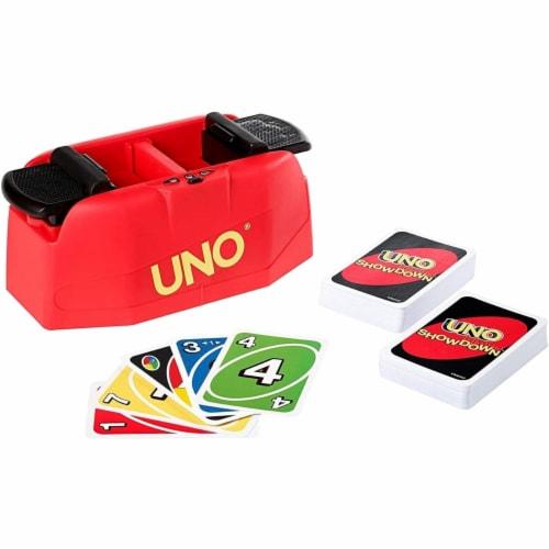 UNO Showdown Card Game Perspective: bottom