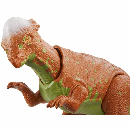 Jurassic World Savage Strike Pachycephalosaurus Figure Perspective: bottom