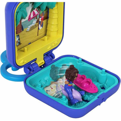 Mattel Polly Pocket Tiny Compact Playset - Assorted Perspective: bottom
