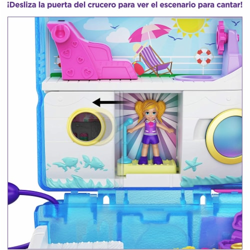 Polly Pocket Pocket World Sweet Sails Cruise Ship Compact Set Perspective: bottom