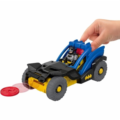 Fisher-Price® Imaginext DC Super Friends Batman Rally Car Perspective: bottom
