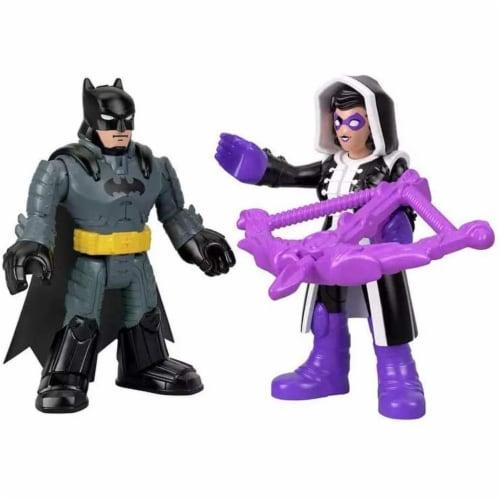 Fisher-Price® Imaginext DC Super Friends Batman & Huntress Figures Perspective: bottom