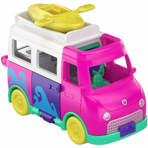 Pollyville Transforming Camper Van Playset Perspective: bottom