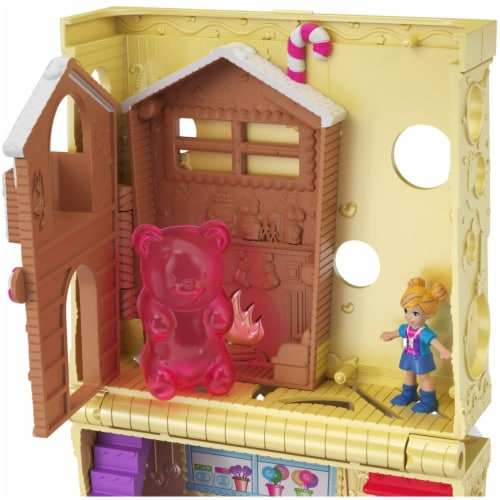 Pollyville Candy Store with 4 Floors, 2 Dolls and 5 Accessories Perspective: bottom