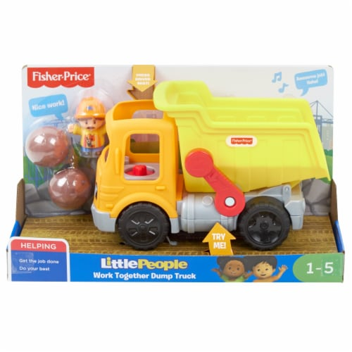 Fisher-Price® Little People Work Together Dump Truck Perspective: bottom