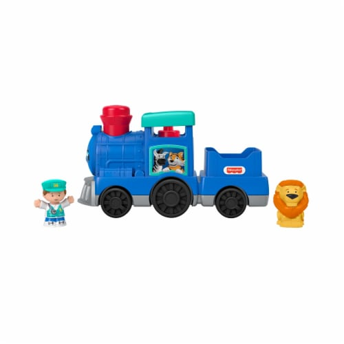 Fisher Price Little People Animal Train Set Perspective: bottom
