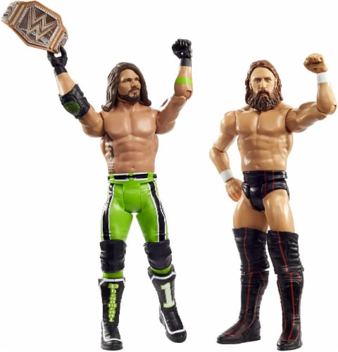 WWE Daniel Bryan vs AJ Styles Battle Pack 2-Pack Perspective: bottom