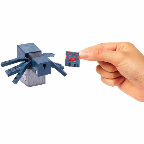 Minecraft Earth Cave Spider Figure Perspective: bottom