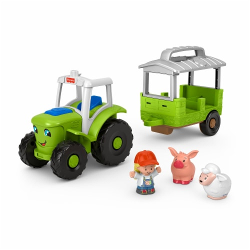 Fisher-Price® Little People Caring for Animals Tractor Perspective: bottom