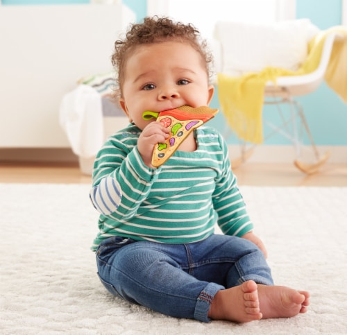 Fisher-Price® Pizza Teether Perspective: bottom