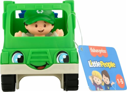 Fisher-Price® Little People® Recycle Truck Perspective: bottom
