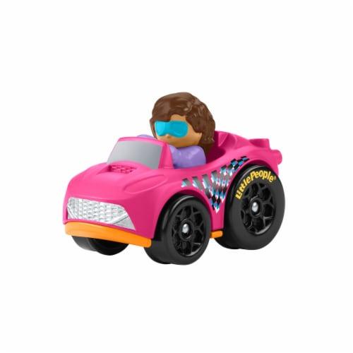 Fisher-Price® Little People Wheelies Roadster Vehicle Perspective: bottom
